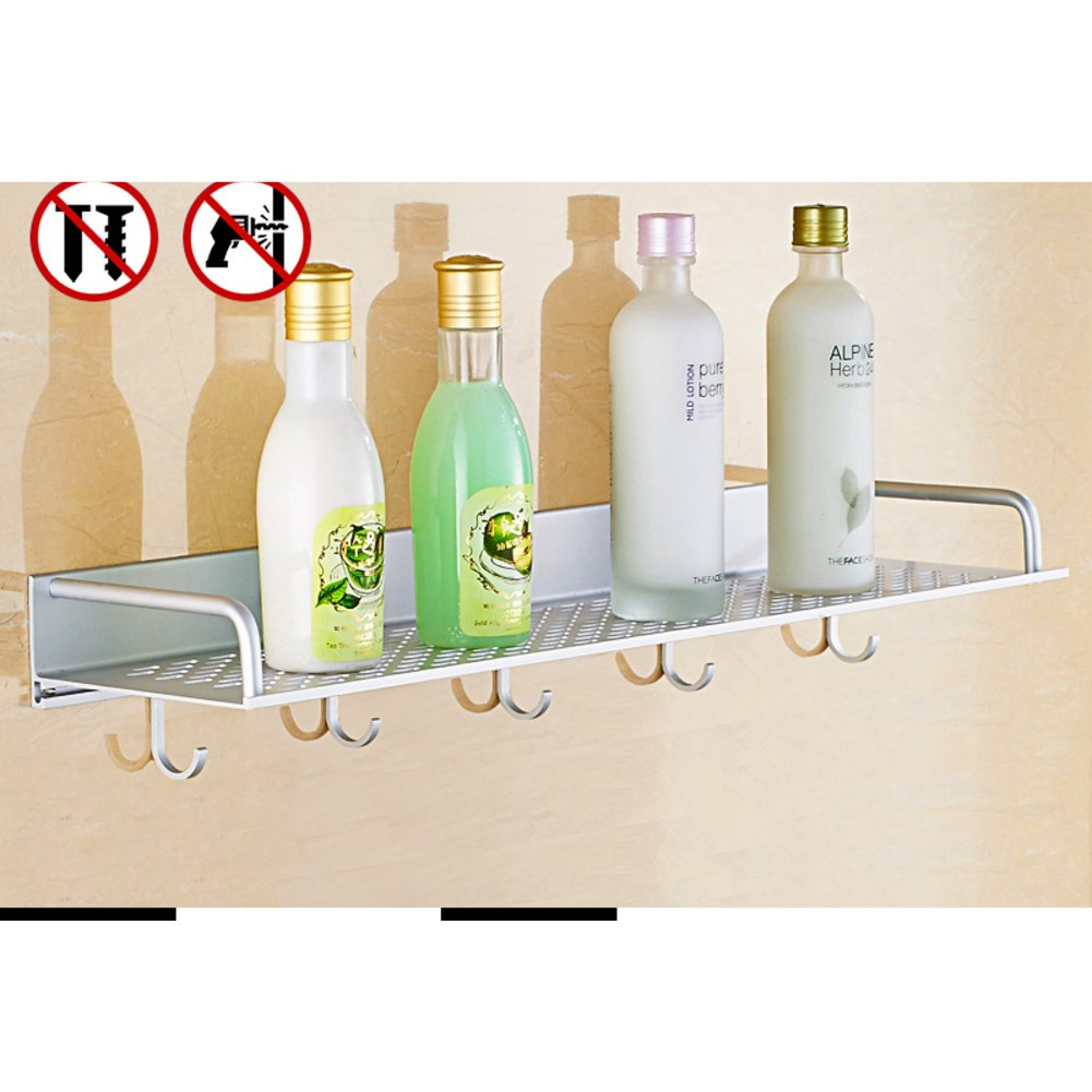 new bathroom space aluminium racks/ bathroom kitchen corner/Thicken cosmetic storage rack-B