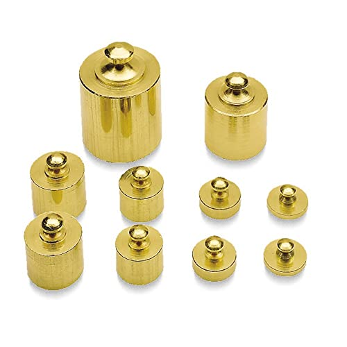 Learning Resources Brass Mass Weights Set