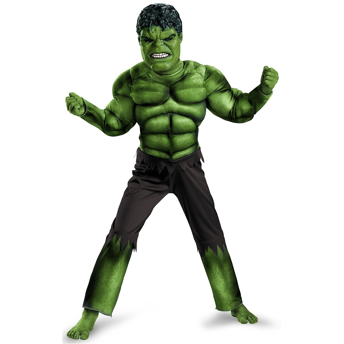 Disguise Limited Boys' Hulk Avengers Classic Muscle Costume Disguise Costumes - Toys Division