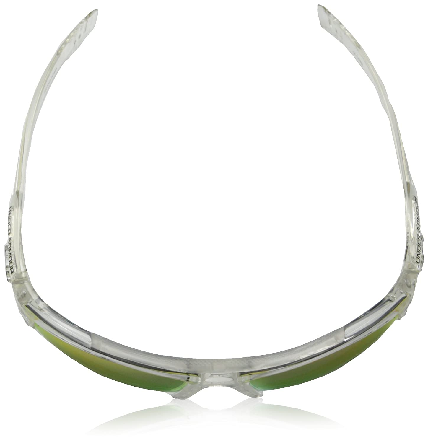 966c849a7 Under Armour Nitro L Youth Large 8600048-141441 Sunglasses Shiny Crystal  Clear 59 mm
