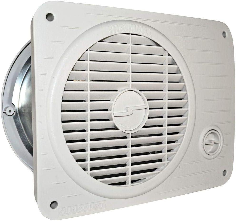 Suncourt Thru Wall Fan Hardwired Variable Speed
