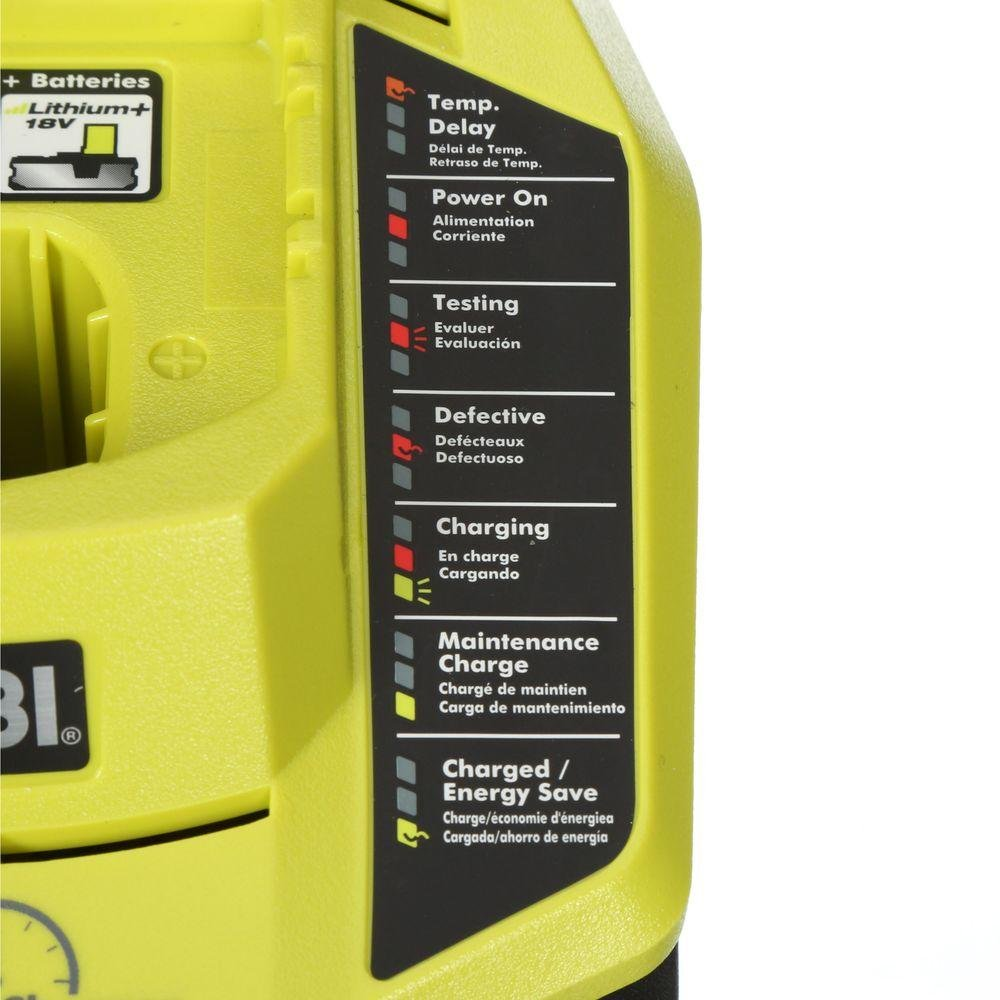 Ryobi 18-Volt ONE+ Cordless Full Size Glue Gun with Charger and 18-Volt ONE+ Lithium-Ion Battery (Bundle) by Ryobi (Image #9)