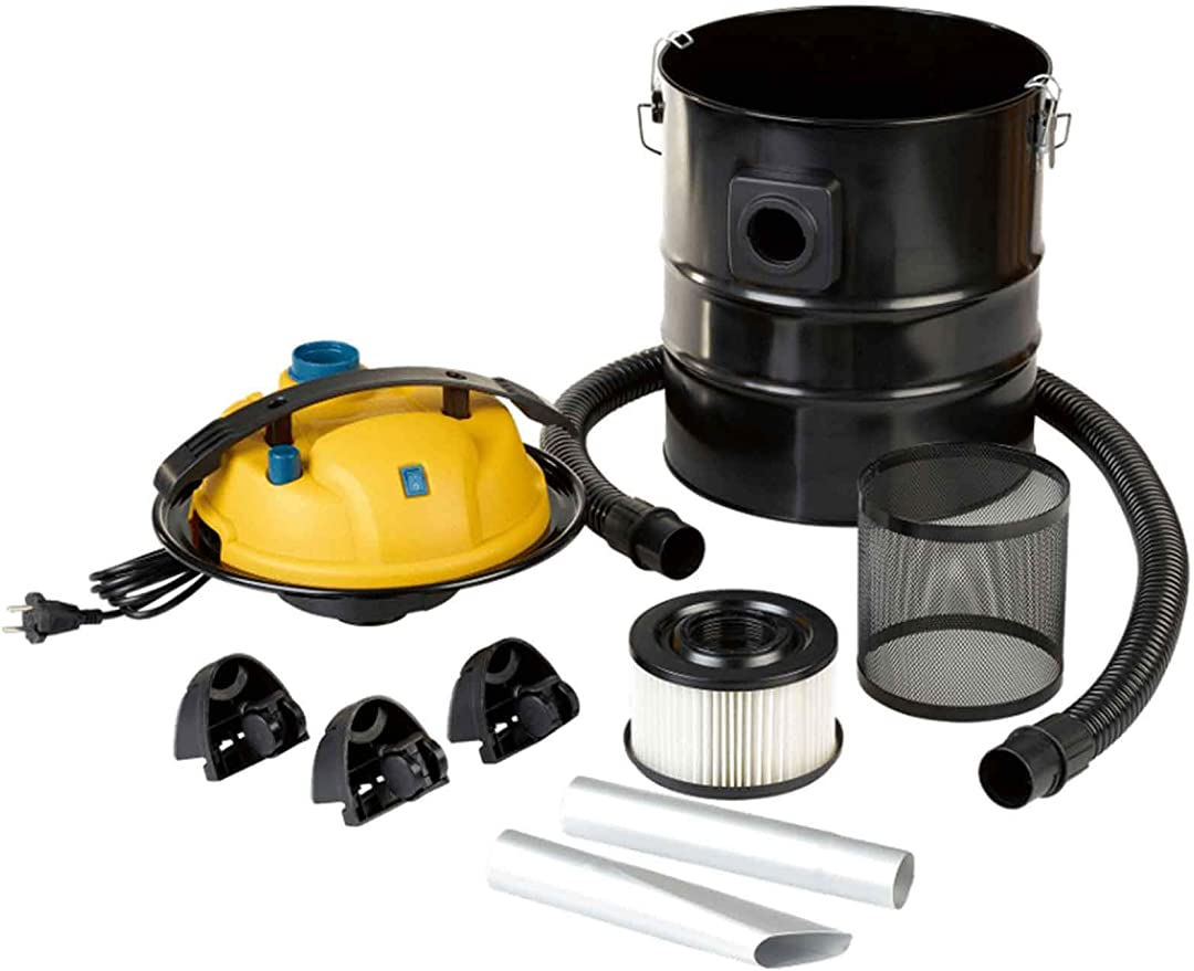 Quigg aspirador de cenizas doble sistema de filtro de Fein filtro de polvo y filtro protector para metal 1200 W con ventilador función: Amazon.es: Bricolaje y herramientas