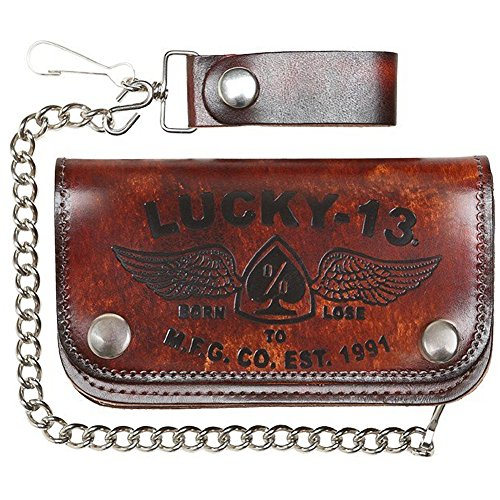 Lucky 13 Horse Embosed Wallet