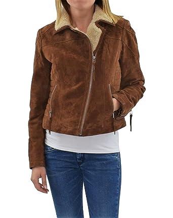 862bd976b71f17 Freaky NationTEDDY STAR - Leather jacket - cognac: Amazon.co.uk ...