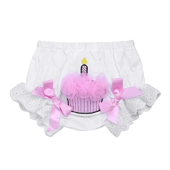 YiZYiF Ropa interior Braguitas Calzoncillos Con Bowknot Pantalones Bombachos para Bebés Niña 1-2 años