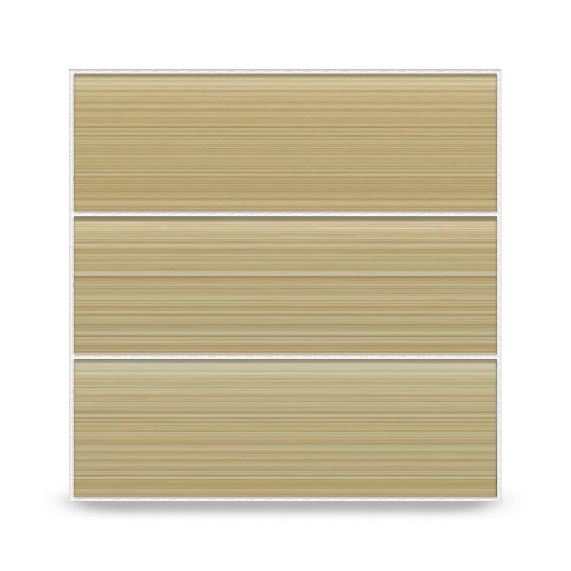 Bodesi Cupatea Light Brown Glass Subway Tile for Kitchen Backsplash or Bathroom, 4x12
