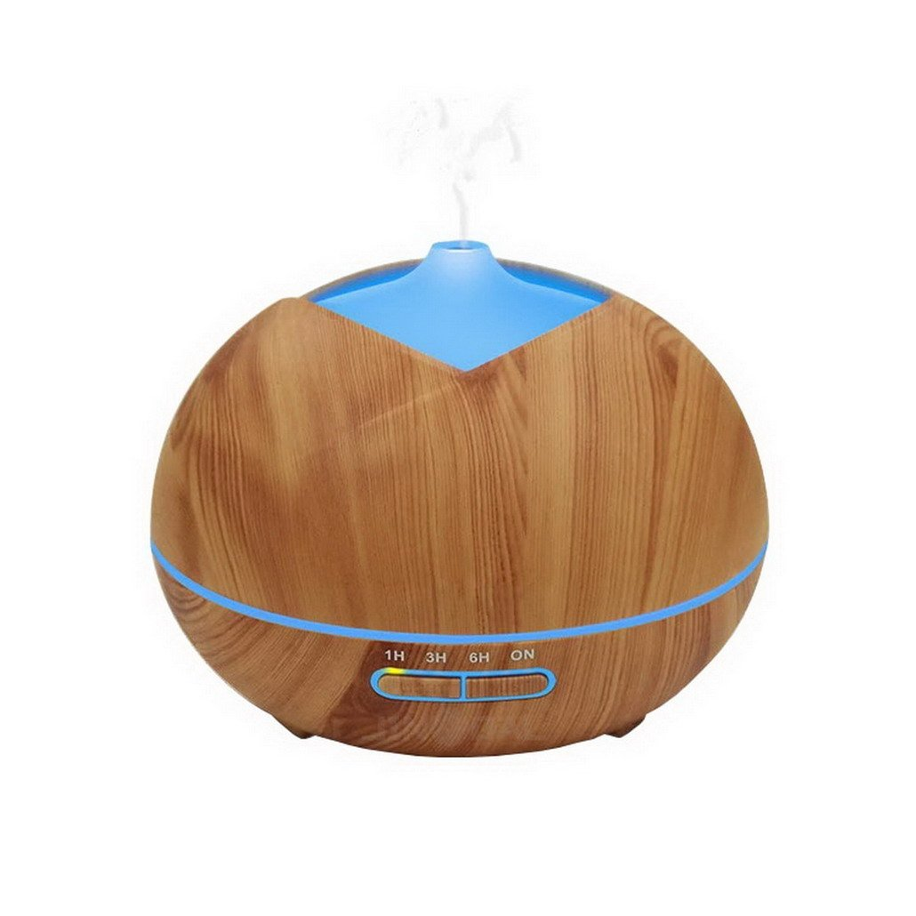 400ml Essential Oil Diffuser Cool Mist Humidifier Ultrasonic Aroma for Office Home Bedroom Living Room Study Yoga Spa