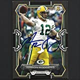 Aaron Rodgers autograph signed 2015 Topps card #46 Packers Nice!
