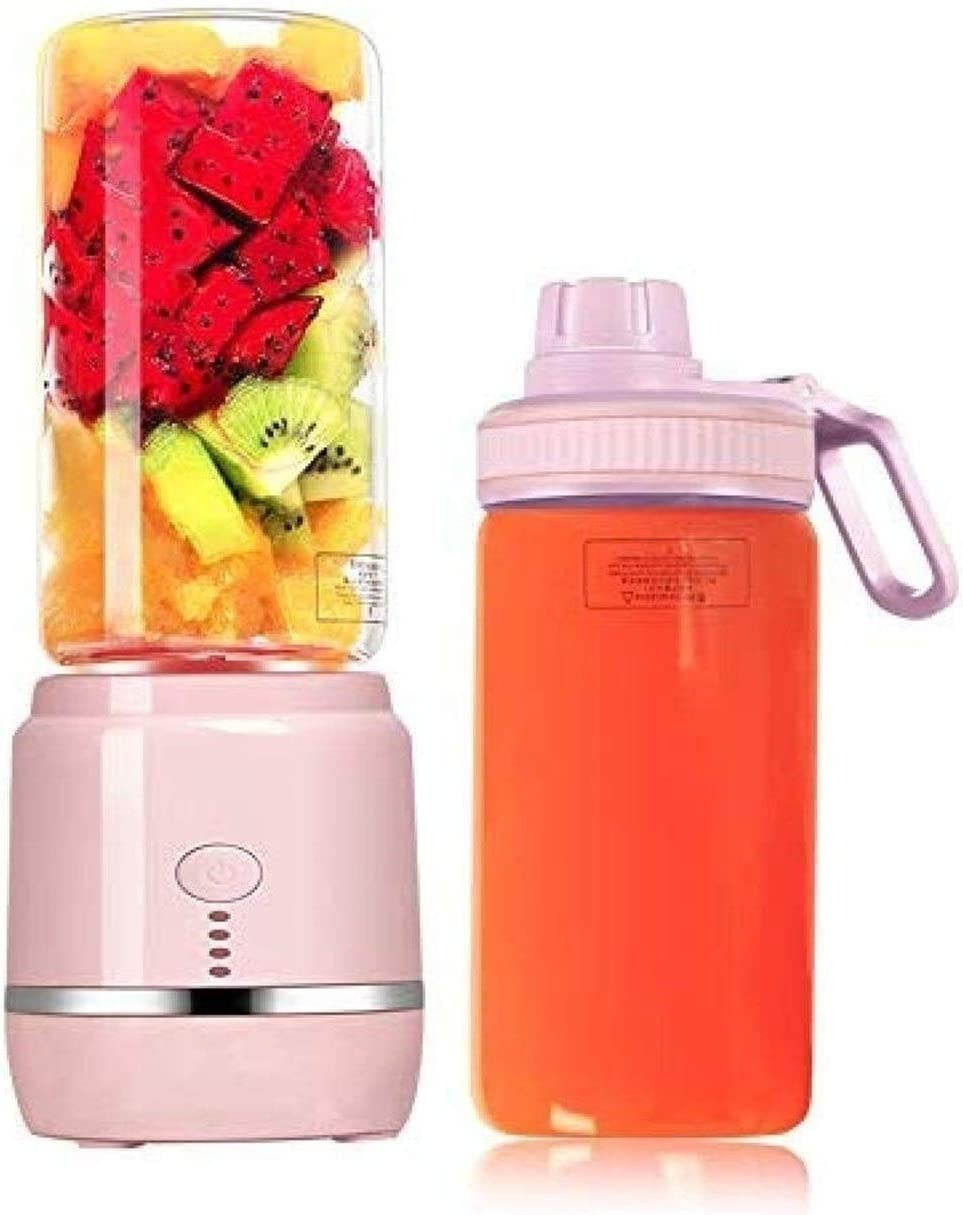 The Six-blade Mini Juicer Juicer Juice Cup Portable Multifunction USB Charging Home (Color : -, Size : -)