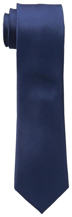 b884345825ba Michael Kors Men's Sapphire Solid II Tie, Black, Regular at Amazon Men's  Clothing store: