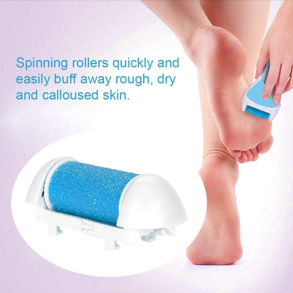 Raspador para pies, Removedor de callos Piel muerta Removedor de callos para Spa y Pedicura (azul): Amazon.es: Belleza