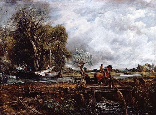 (John Constable: The Leaping Horse )