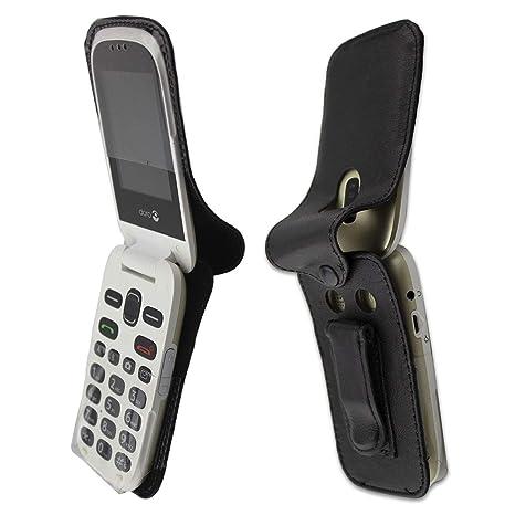 af0a4b775b8b1 caseroxx - Housse de téléphone Portable à Clip pour Doro 6030 6031 en Cuir  veritable  Amazon.fr  High-tech