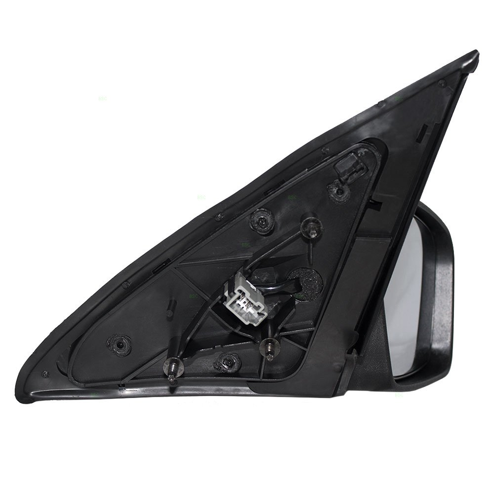 Passengers Power Side View Mirror Textured Base with Smooth Cover Replacement for Ford Mercury 6E5Z17682A AUTOANDART
