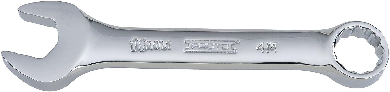 Proto J1211MES 12 Pt. Full Polish Metric Short Combination Wrench 11 mm
