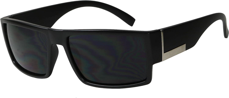 Locs Black Vintage Style Hardcore Shades Men/'s Fashion Sunglasses