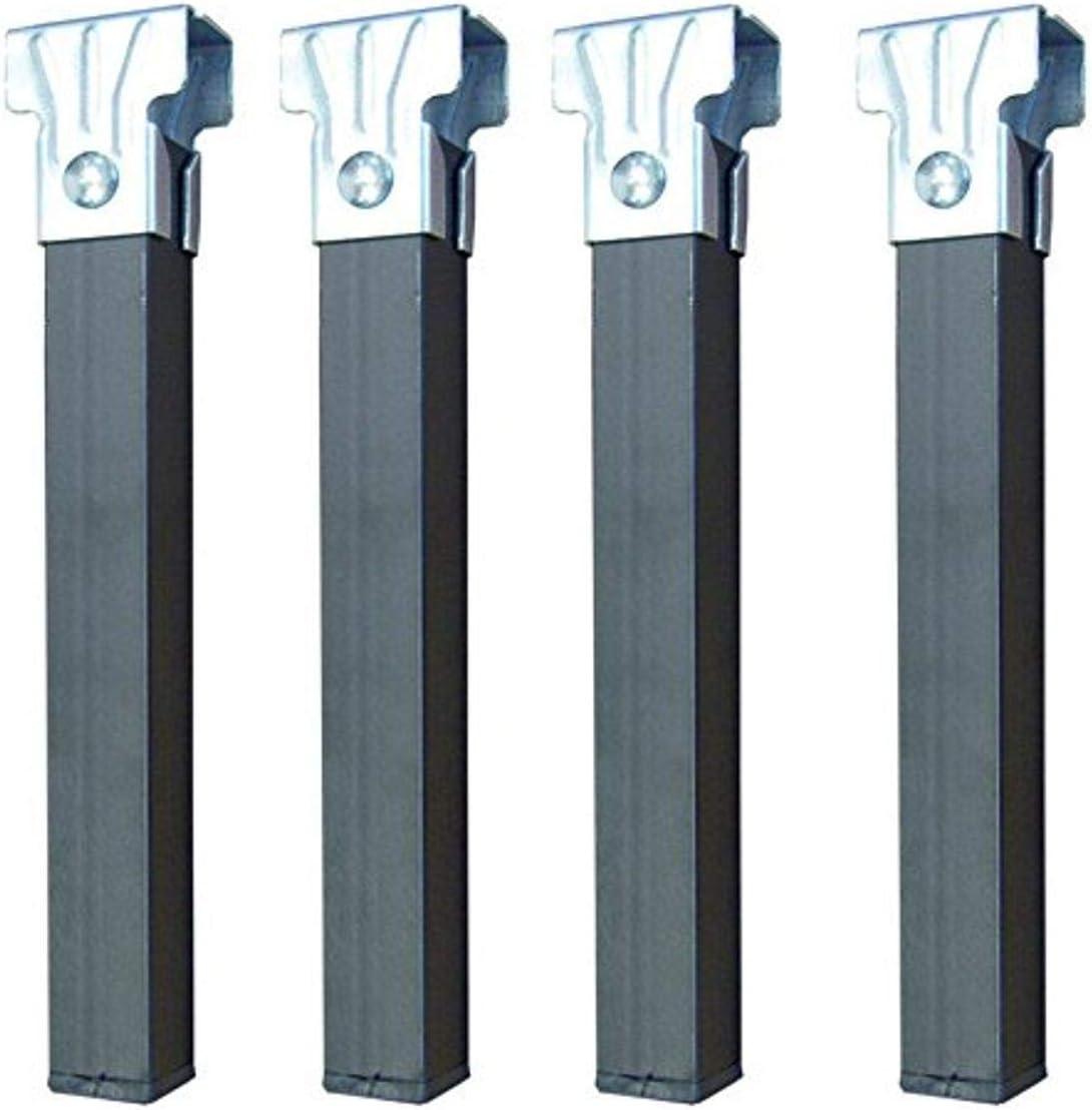 Imex El Zorro Juego 4 Patas somier sin Ruedas, Metal, Neutro, 30x3x3 cm