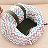 GSCH Baby Safe Sitting Chair Comfortable Nursing Pillow (Stripe)