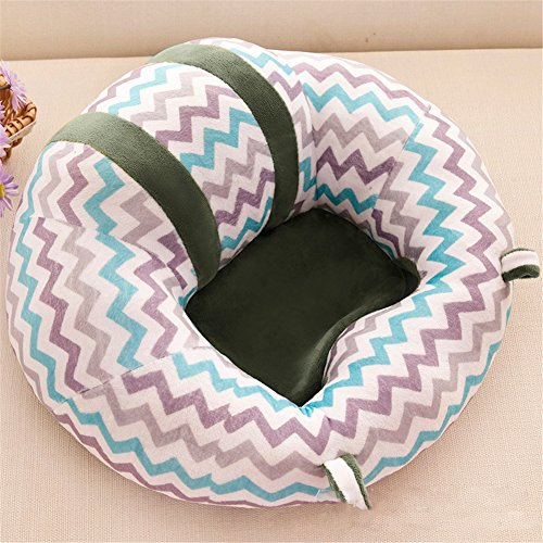 GSCH Baby Safe Sitting Chair Comfortable Nursing Pillow (Stripe) by GSCH