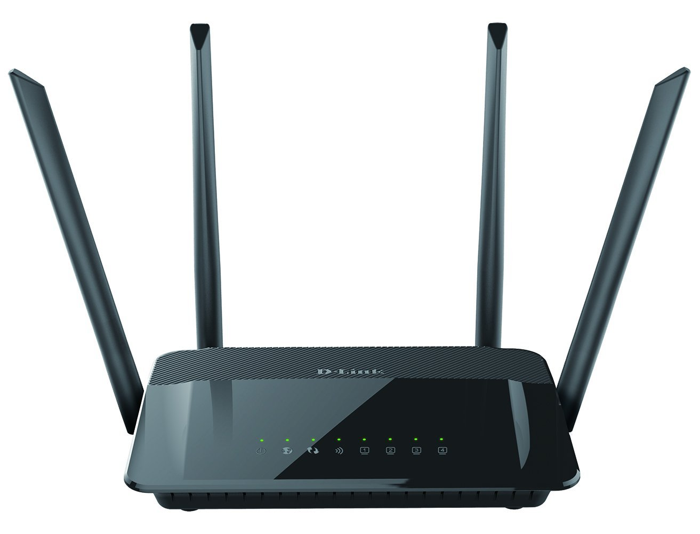 Renewed Smart Dual Band MU-MIMO D-Link DIR-867 AC1750 High Power Wi-Fi Gigabit Router