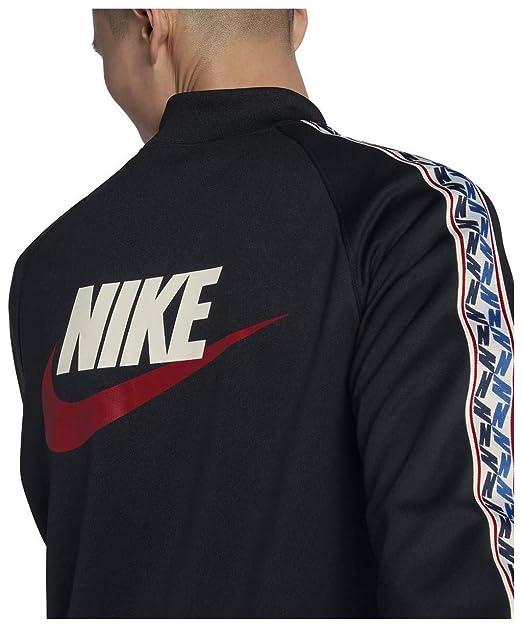 5dfe144b98e4 Nike Mens M NSW Taped Track JKT Poly AJ2681 at Amazon Men s Clothing store