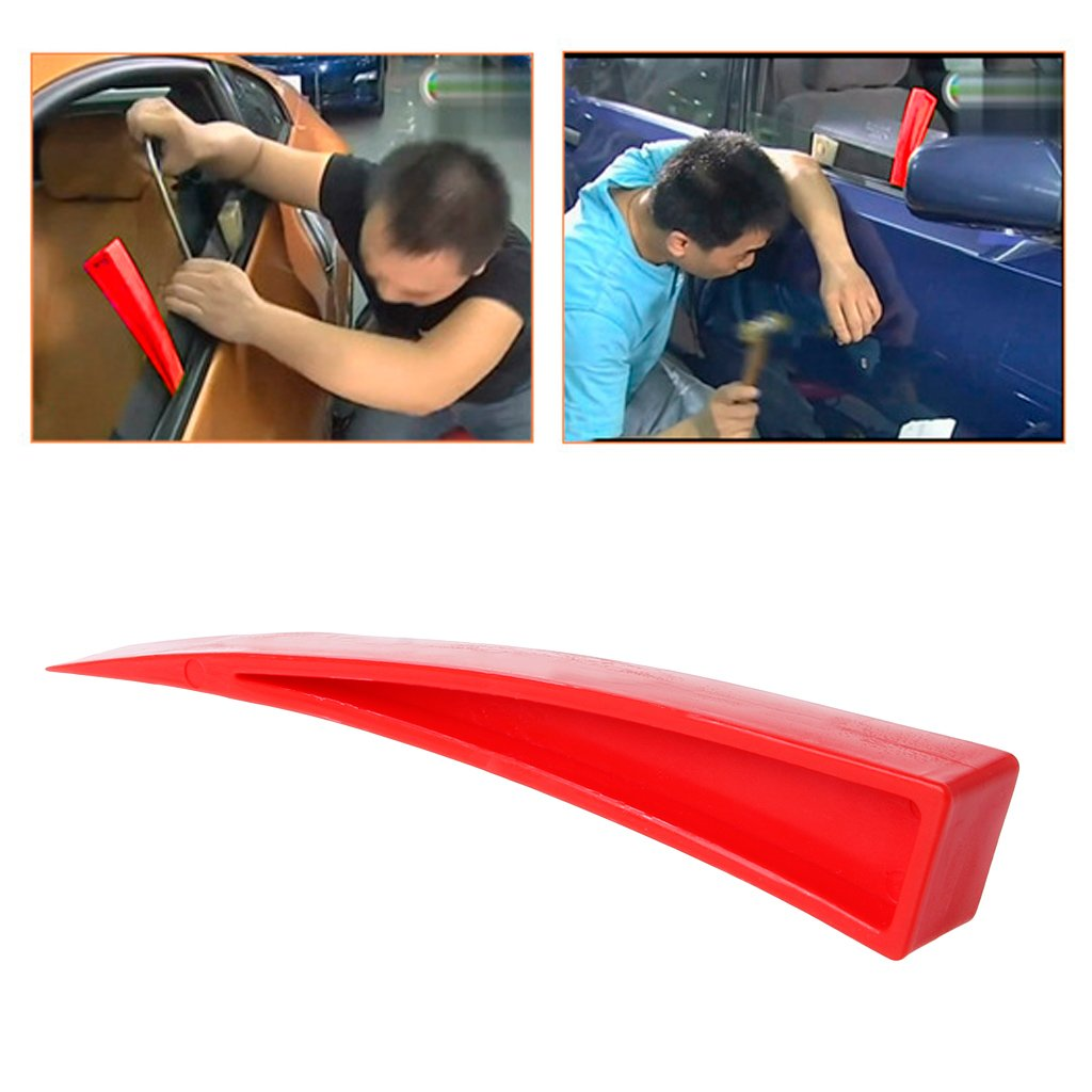 fuwahahah PDR Curved Window Wedge Paintless Dent Repair Auto Car Body Repair DIY Hand Tool