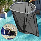 SUJING Professional Heavy Duty Pool Leaf Rake Fine Mesh Frame Net Pool Skimmer Cleaner Swimming Pool Spa Tool