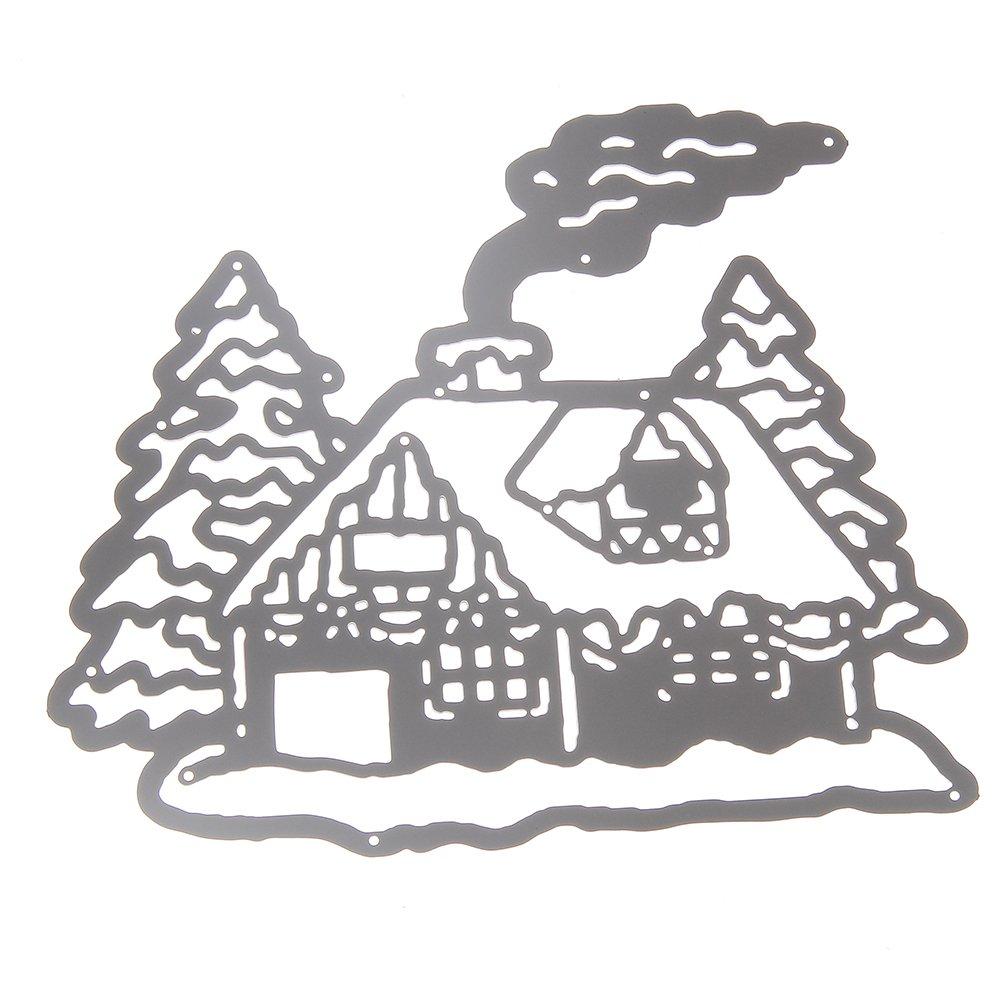 Christmas House Cutting Dies