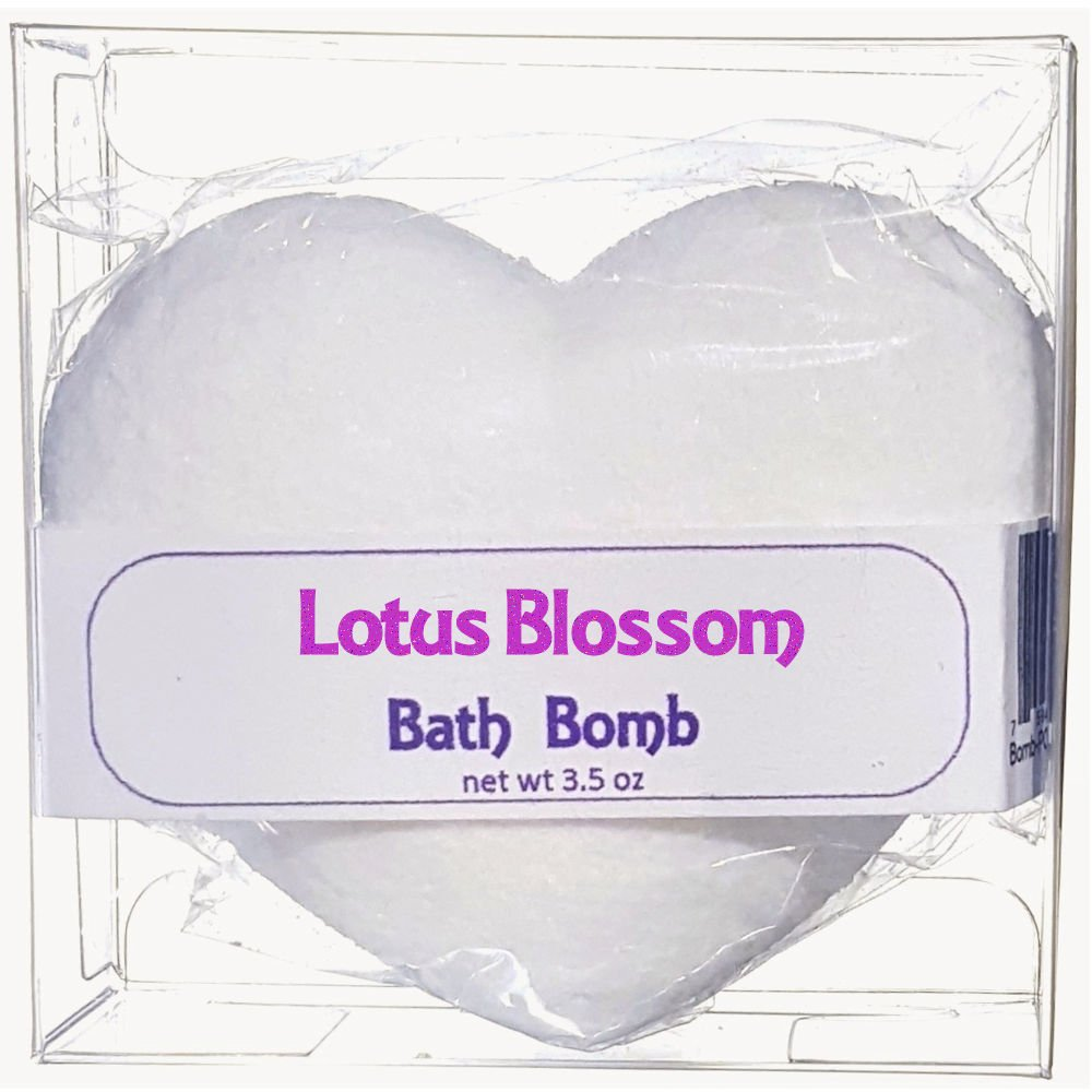 Amazon flowersong bath bomb lotus blossom scent beauty izmirmasajfo