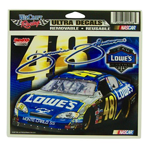 Jimmie Johnson #48 Lowe's 4.5 X 5.5 Decal Officially Licensed Wincraft