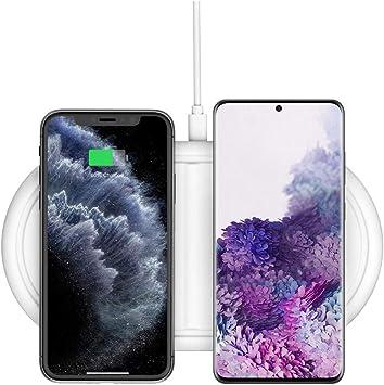 Cargador inalámbrico rápido Qi 10 W para iPhone 11 X Samsung