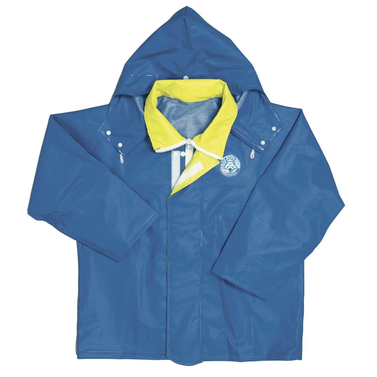 [エビス] サロペットジャケット RA-94 B001J27YG6 LLL|ブルー ブルー LLL