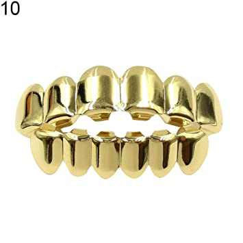 Amazon.com: Hip Hop tapas de dientes Grillz Parrillas ...