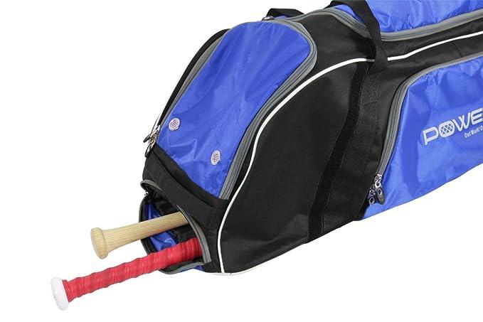 Amazon.com: PowerNet - Bolsa de béisbol con ruedas, 3 ...