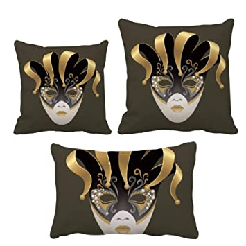 Amazon.com: DIYthinker Golden Mask Happy Carnival of Venice ...