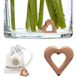 Cut Flower Food Alternative | Antimicrobial Copper Charm for Fresh Cut Flowers | Help Flowers Bloom, Stay Fresh Longer With Clear Water! No Hassle, No Mess | Reusable, Save Money. An Amazing Gift!
