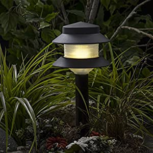 Paradise GL22627 Low Voltage Plastic 4W Path Light (Black, 6 Pack)