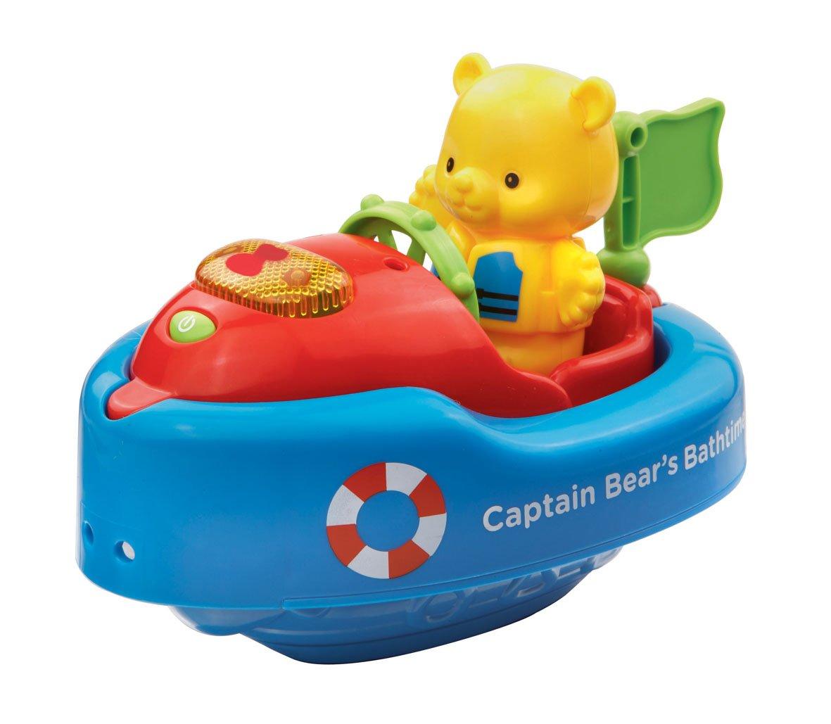 Vtech Bath Toy Captain Bear\'s Bathtime: Amazon.co.uk: Toys & Games