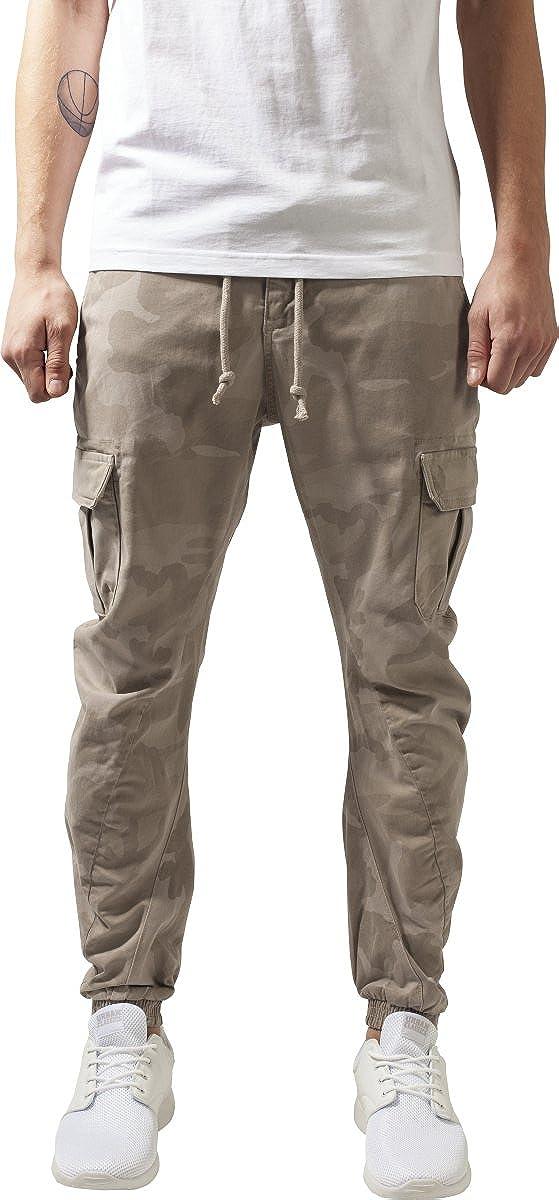 Urban Classics Camo Cargo Jogging Pants, Pantalones para Hombre