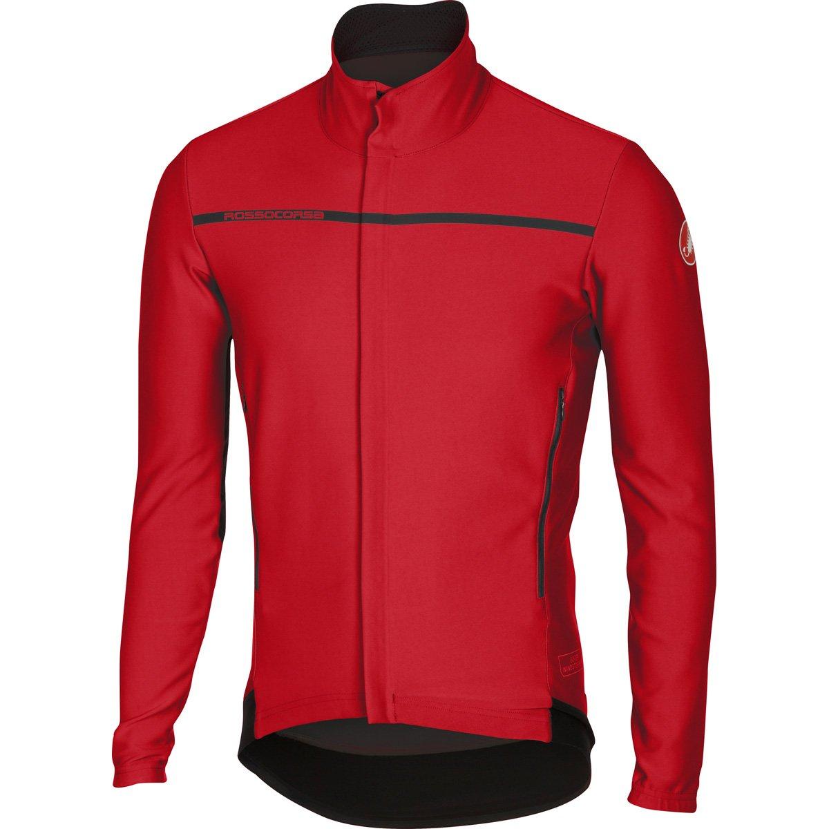 Castelli 2016 / 17メンズPerfetto長袖サイクリングジャケット – b16507 B01LFFC9WA Medium|レッド レッド Medium