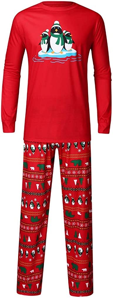 Trisee Conjunto de Pijama de Familia Navidad para Hombre ...