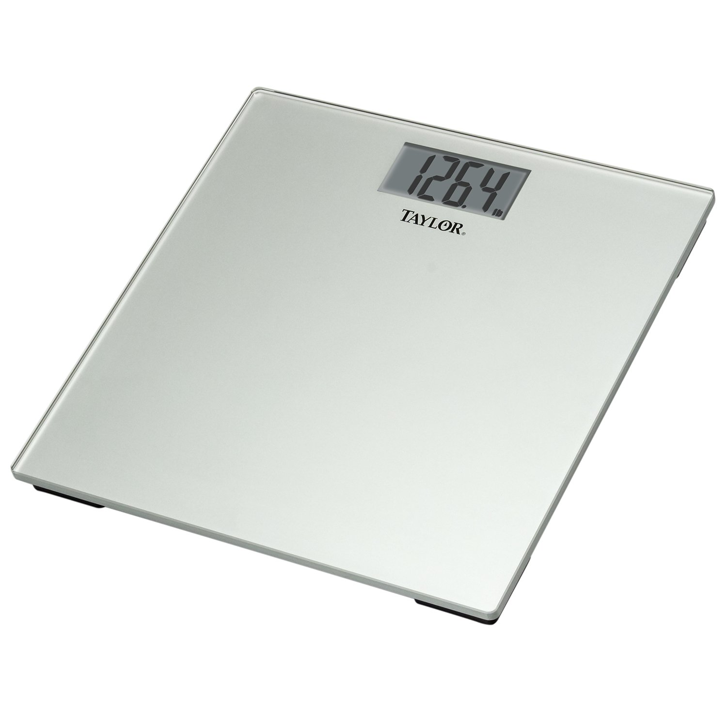 Amazon.com: Taylor Precision Products Glass Digital Bath Scale (Silver): Health & Personal Care