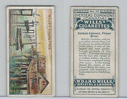 W62-95 Wills, Overseas Dominions Canada, 1914, 35 Salmon Cannery, Fraser