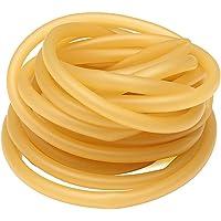 Ponacat Naturligt latex gummiband gummislang för slangbella katapult kirurgiska rör elastiska delar 6 x 9 mm