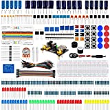 Emakefun Electronic Component Fun Kit w/ Power Supply Module,Jumper Wire,Potentiometer,Breadboard,Resistor,Capacitor,LED for Arduino UNO,MEGA2560,Raspberry Pi