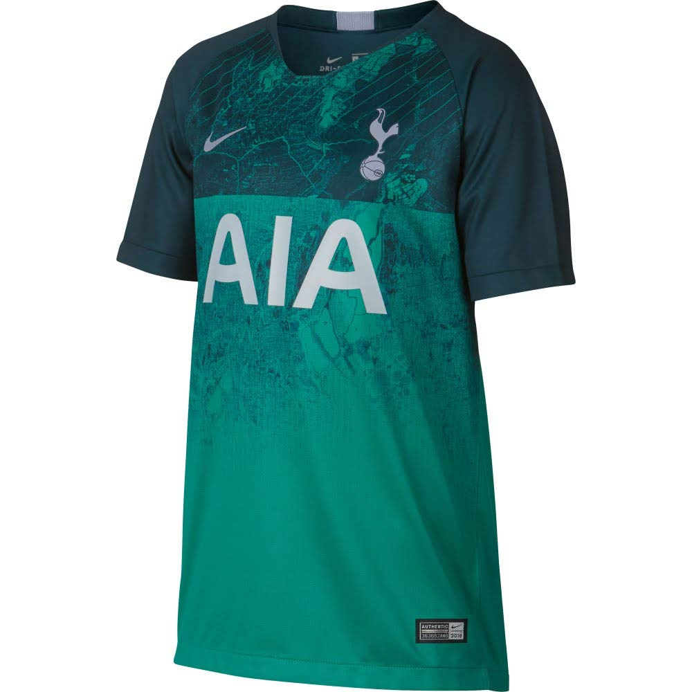 d5ac31b7fc5 Nike 2018-2019 Tottenham Third Football Soccer T-Shirt (Kids ...