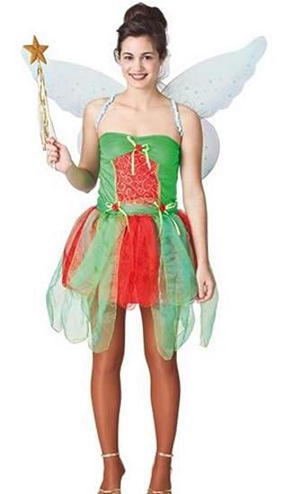 Fyasa 706008-t04 disfraz de hada, grande: Amazon.es: Juguetes y juegos