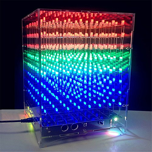 Led Light Cube 8X8X8 - 9