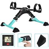 Cozylifeunion Pedal Exerciser - Portable Desk Cycle - Hand, Arm & Leg Exercise Peddling Machine - Low Impact, Adjustable…